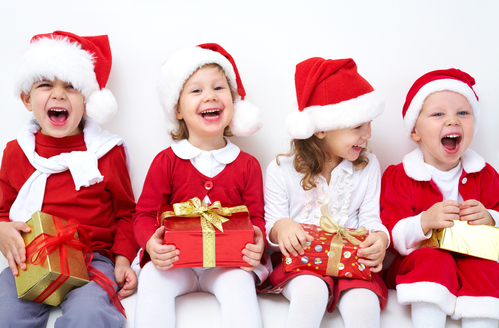 kids and Christmas gifts
