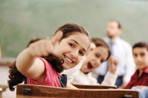 kids in the school, classroom