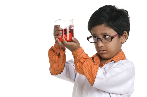 boy scientist