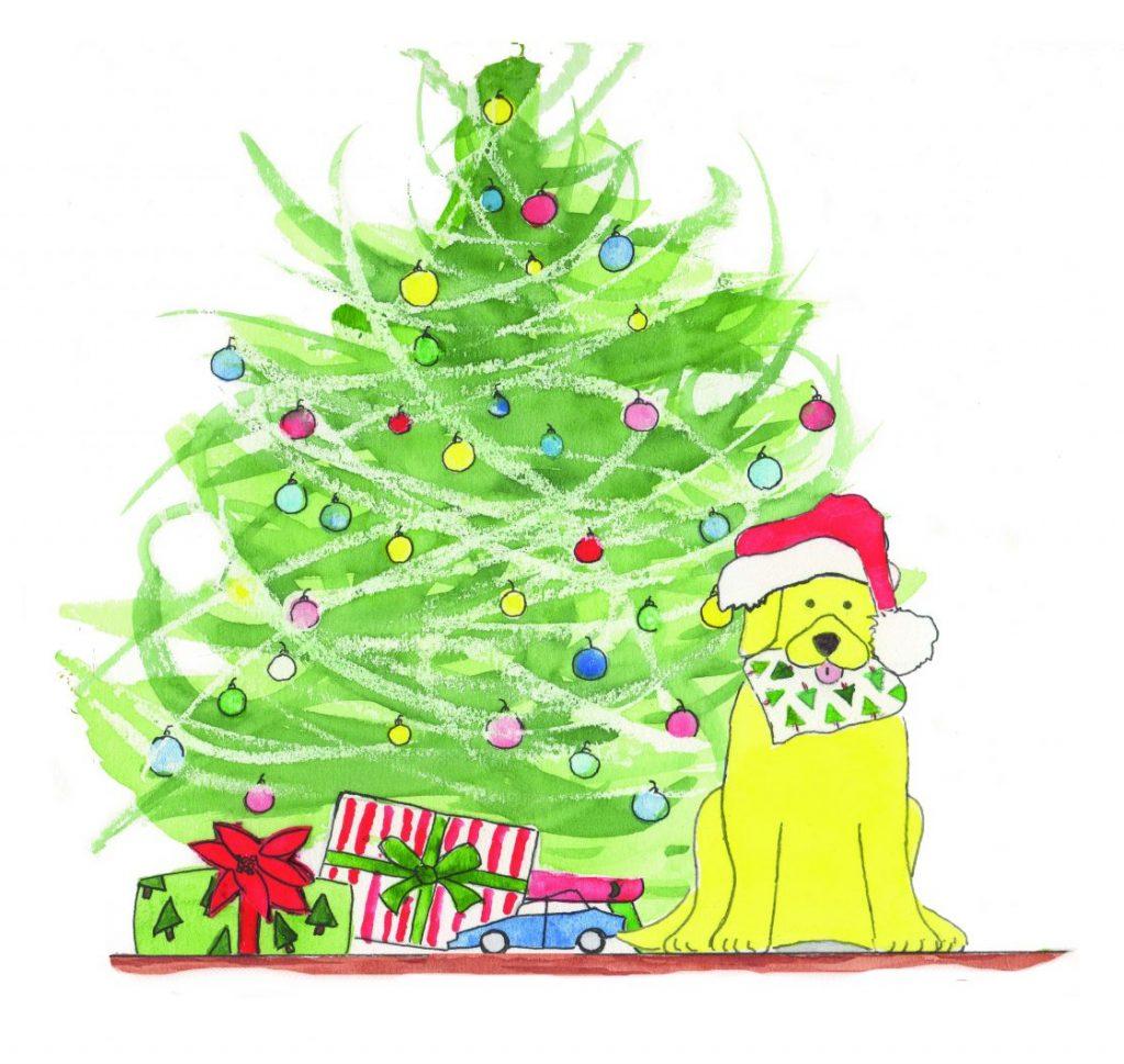 Wyatt Giving-ChristmasTree