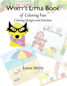 Wyatt's Little Book of Coloring Sheets Cover_