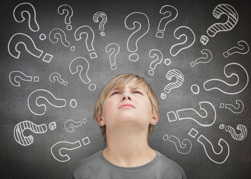 boy questioning