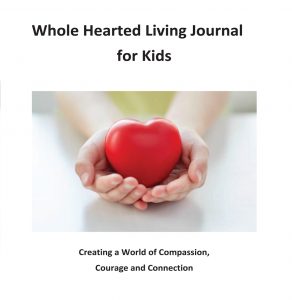 Whole Hearted Living Journal front cover
