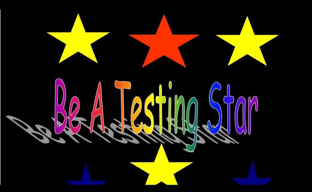 Testing Star Photo