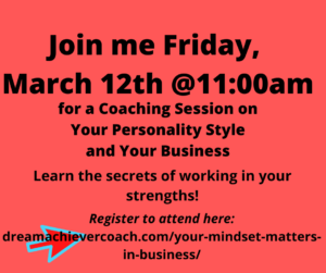 personality coaching session