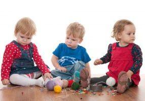 Threads of children friendship