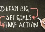 dream big set goals